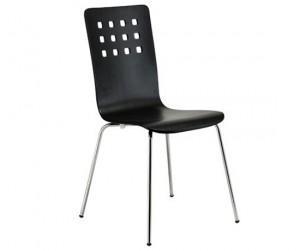 Ghế gỗ uốn Square Dark Brown