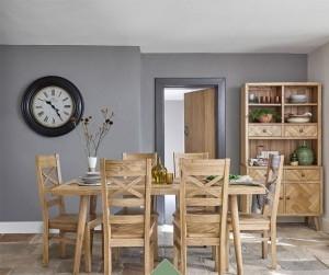 Bộ bàn ăn 6 ghế Parquet