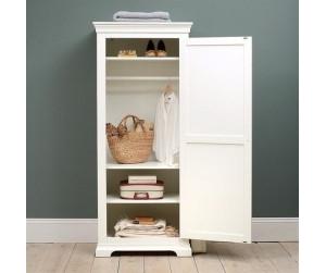 Wardrobe with 1 Door & 1 Drawer white