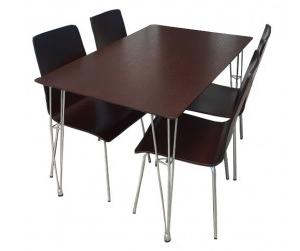 Bộ bàn ăn 4 ghế Sarina BR