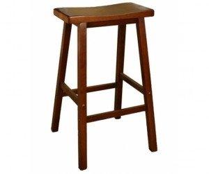 Ghế quầy bar gỗ tự nhiên 29 inch