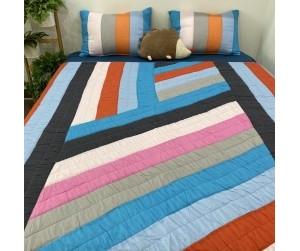 Bộ chăn drap Stripes B092